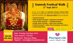 Ganesh Festival Walk by Pune Expat Club