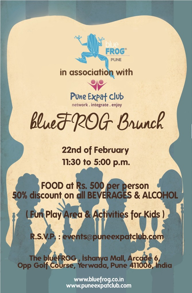 brunch pune poster.