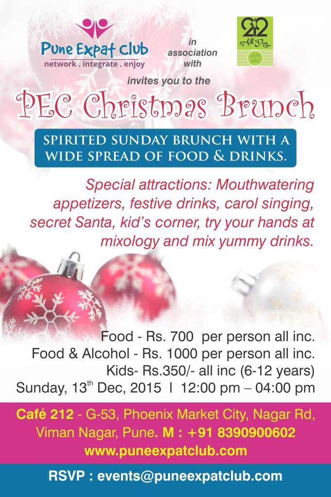 PEC Christmas Brunch @ Cafe 212